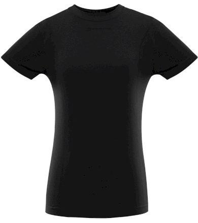 ALPINE PRO BAMBA Dámské funkční triko LUNR060990 černá M-L