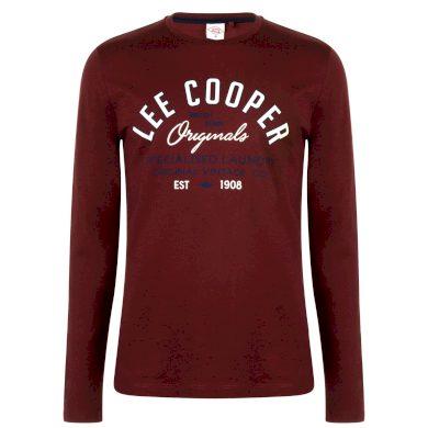 Lee Cooper Long Sleeve Vintage Pánské triko dlouhý rukáv 59730709 SD_Medium