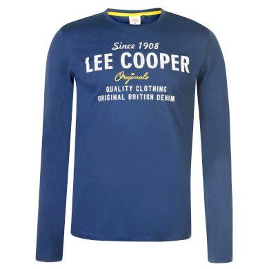 Lee Cooper Long Sleeve Vintage Pánské triko dlouhý rukáv 59730718 SD_Small