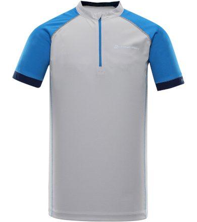 ALPINE PRO SORAN Pánský cyklistický dres MTSR351769PA vapor blue XS