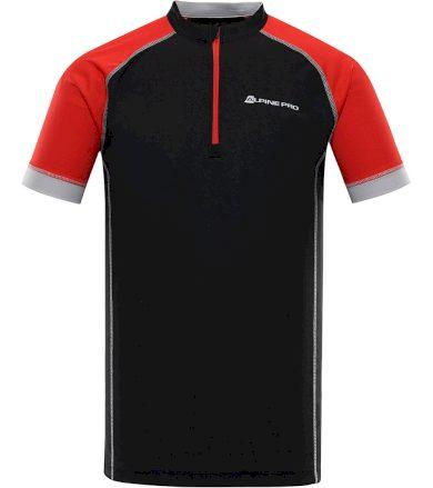 ALPINE PRO SORAN Pánský cyklistický dres MTSR351990PA černá XS