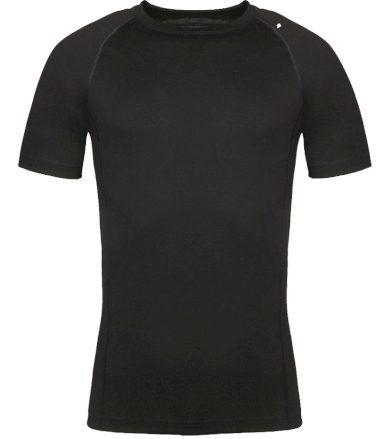 ALPINE PRO MERIN Pánské funkční triko MTSR476990 černá L