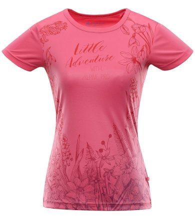 ALPINE PRO QUARTO 5 Dámské funkční triko LTSR572419PB camellia rose XS