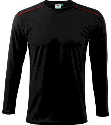 Malfini Long Sleeve Unisex triko 11201 černá XL