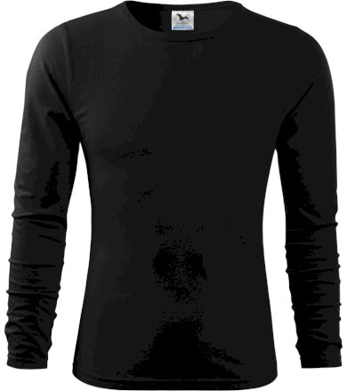 Malfini FIT-T Long Sleeve Pánské triko 11901 černá M