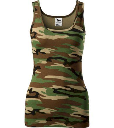 Malfini Triumph Dámské tílko 13633 camouflage brown XS