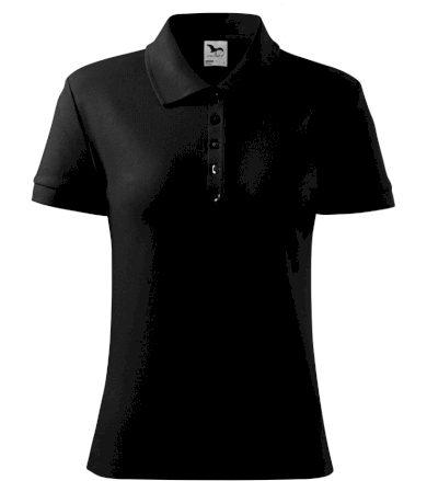Malfini Cotton Heavy Dámská polokošile 21601 černá S