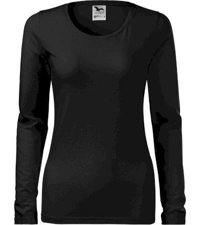 Malfini Slim Dámské triko 13901 černá S