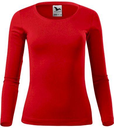 Malfini Fit-t LS Dámské triko dlouhý rukáv 16907 červená XL