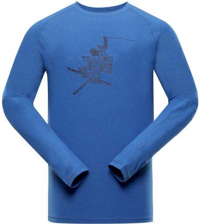 ALPINE PRO TAR 2 Pánské funkční triko s dlouhým rukávem MTSS552674 Blue aster XS