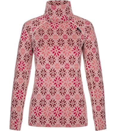 KILPI Dámské termo triko dlouhý rukáv JANNU-W NL0009KILPN Světle růžová 34