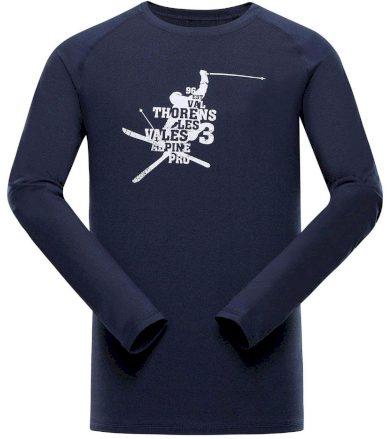 ALPINE PRO TAR 2 Pánské funkční triko s dlouhým rukávem MTSS552602 mood indigo XS
