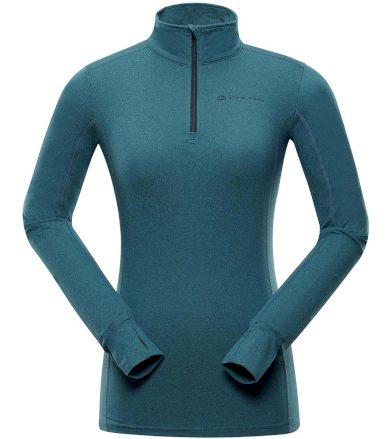 ALPINE PRO NEVEA 6 Dámské funkční triko s dlouhým rukávem LTSS676644 větrné capri XS
