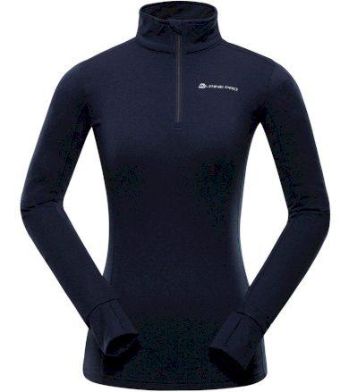 ALPINE PRO NEVEA 6 Dámské funkční triko s dlouhým rukávem LTSS676602 mood indigo XS