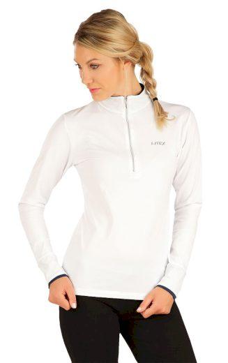 LITEX Tričko dámské s dlouhým rukávem 7A440100 Bílá S