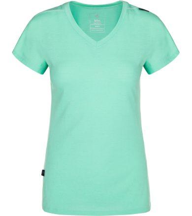 KILPI Dámské funkční tričko MERIN-W NL0010KITRQ Tyrkysová 34