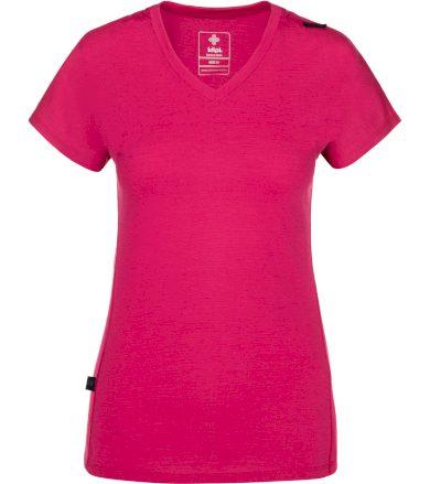 KILPI Dámské funkční tričko MERIN-W NL0010KIPNK Růžová 34