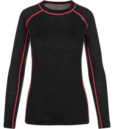 KILPI Dámské funkční merino triko PATTON-W NL0042KIBLK Černá 34