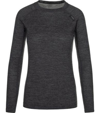 KILPI Dámské funkční merino triko PATTON-W NL0042KIDGY Tmavě šedá 34