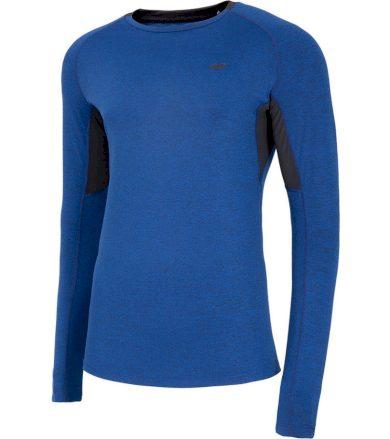 Pánské funkční triko dlouhý rukáv NOSH4-TSMLF002-30M DARK BLUE MELANGE M