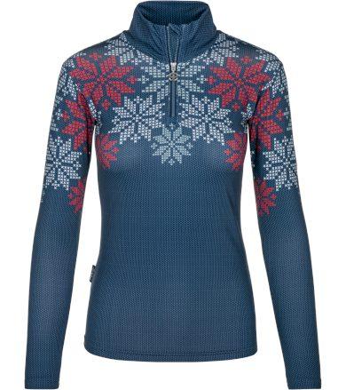 KILPI Dámské funkční triko LEEMA-W NL0031KIDBL Tmavě modrá 34