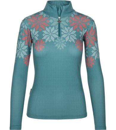 KILPI Dámské funkční triko LEEMA-W NL0031KIBLU Modrá 34