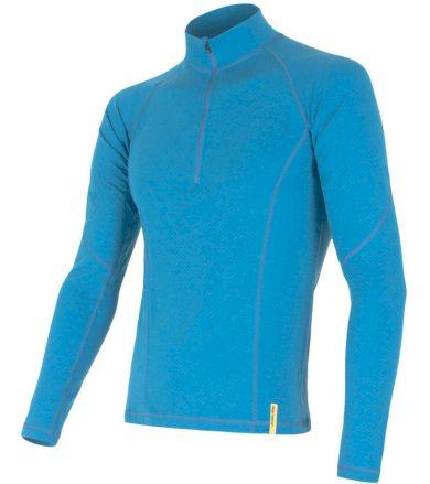 MERINO DF Pánské funkční oboustranné triko dl. rukáv 15100024 modrá XL