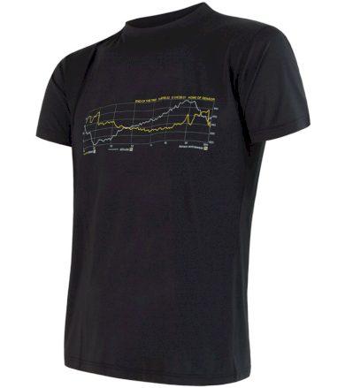 COOLMAX FRESH PT TRACK Pánské funkční triko 17200048 černá M