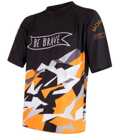 CYKLO BRAVE Pánský cyklistický dres 17100070 černá S