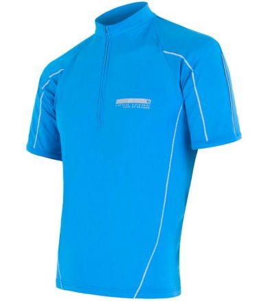 CYKLO ENTRY Pánský cyklistický dres 14100019 modrá M