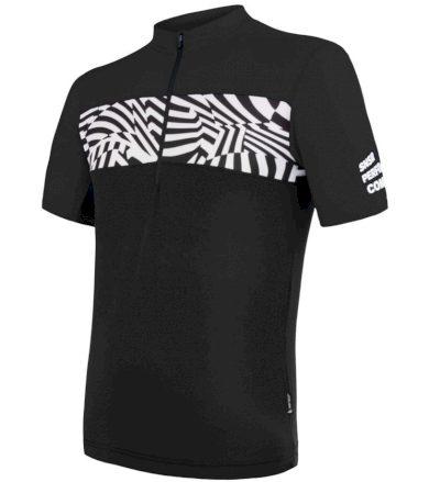 CYKLO MILES Pánský cyklistický dres 20100045 černá XXL