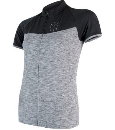 CYKLO MOTION Dámský cyklistický dres 18100070 šedá/černá L