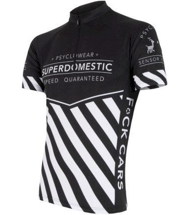CYKLO SUPERDOMESTIC Pánský cyklo dres 16100028 černá XXL
