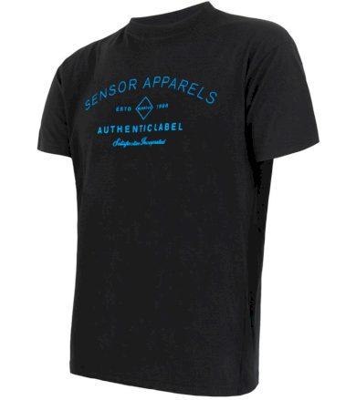 MERINO ACTIVE PT LABEL Pánské funkční triko dlouhý rukáv 18200015 černá S