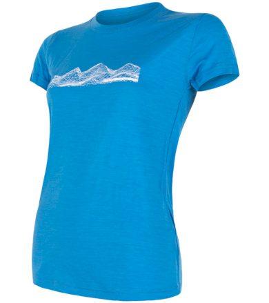 MERINO ACTIVE PT MOUNTAINS Dámské funkční triko 18100019 modrá S