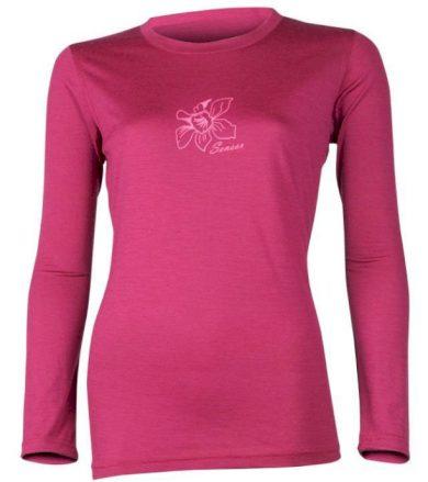 MERINO ACTIVE PT ORCHID Dámské funkční triko dlouhý rukáv 12110041 lilla L