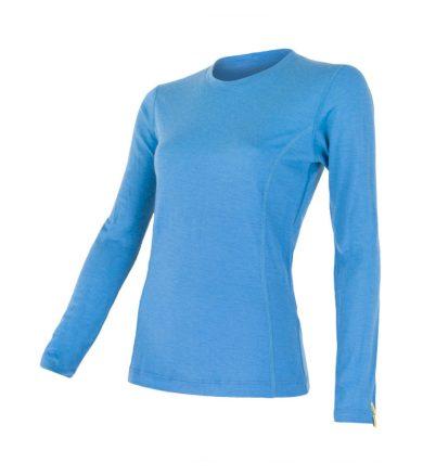 MERINO ACTIVE Dámské funkční triko dlouhý rukáv 12110026 modrá XL
