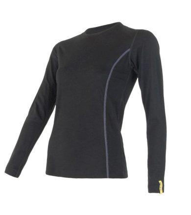 MERINO ACTIVE Dámské funkční triko dlouhý rukáv 11109024 černá L