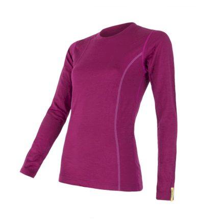 MERINO ACTIVE Dámské funkční triko dlouhý rukáv 12110027 lilla L