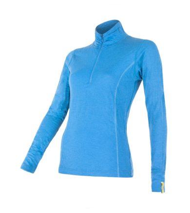 MERINO ACTIVE Dámské funkční triko dlouhý rukáv 12110029 modrá XL