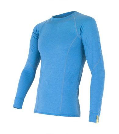 MERINO ACTIVE Pánské funkční triko dlouhý rukáv 12110020 modrá XL