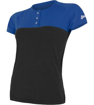 MERINO AIR PT Dámské funkční triko 18100010 modrá/černá L