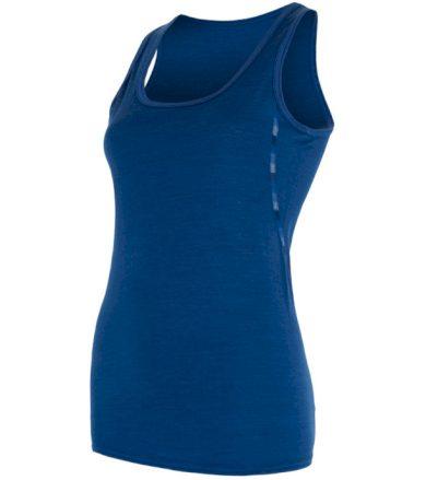 MERINO AIR Dámský funkční top 17200010 tm.modrá XL