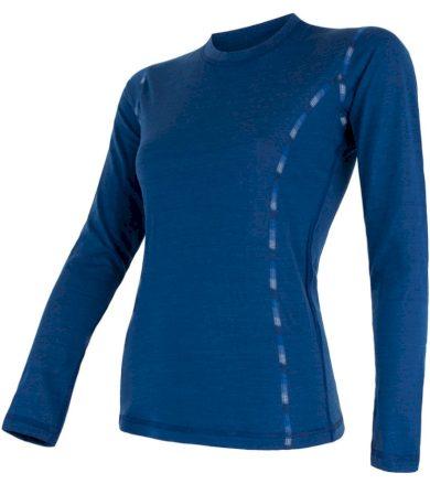 MERINO AIR Dámské funkční triko dlouhý rukáv 17200014 tm.modrá L
