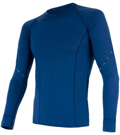 MERINO AIR Pánské funkční triko dlouhý rukáv 17200006 tm.modrá XXL