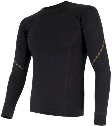 MERINO AIR Pánské funkční triko dlouhý rukáv 17200005 černá XL