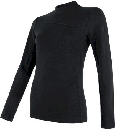 MERINO EXTREME Dámské funkční triko dlouhý rukáv 18200031 černá S