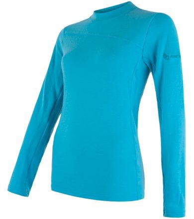 MERINO EXTREME Dámské funkční triko dlouhý rukáv 18200032 modrá L