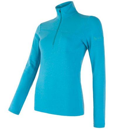 MERINO EXTREME Dámské funkční triko dlouhý rukáv 18200034 modrá L