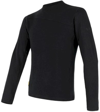 MERINO EXTREME Pánské funkční triko dlouhý rukáv 18200027 černá XL